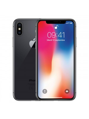 2ndhand iPhone X 256GB Space Gray ex inter like new FULLSET