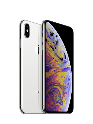 iPhone XS MAX 512GB Silver Single SIM (Nano + eSIM)
