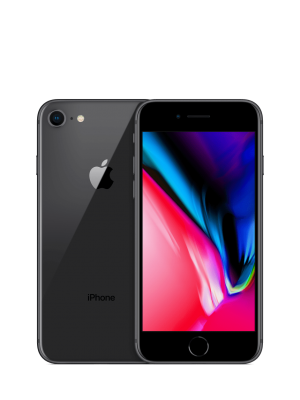 2ndhand iPhone 8 64GB Space Gray ex inter - like new
