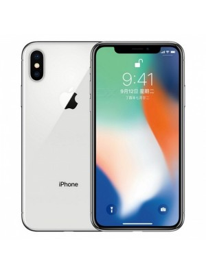 2ndhand iPhone X 256GB Silver ex inter like new FULLSET
