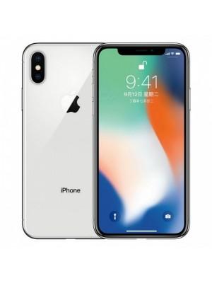 2ndhand iPhone X 256GB Silver ex inter like new FULLSET